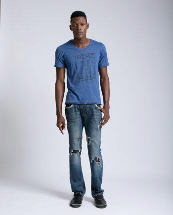Marco Martinez Blue MCMZ Tshirt