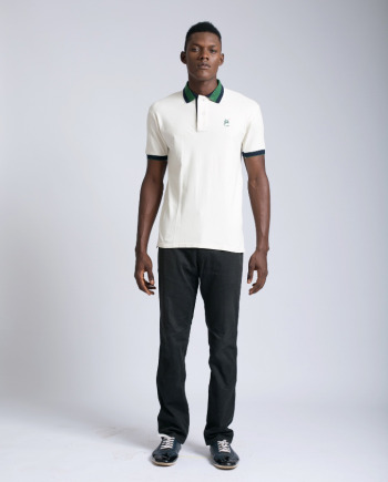 Marco Martinez MRC Cream Polo t-shirt