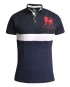 MRC Two Shades of Navy Blue Polo Shirt