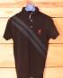 MRC Ladies Polo Shirt with Double Cross Stripe detail