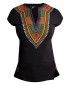 Marco Martinez Black Female Dashiki Top