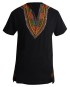 Marco Martinez Mens Black Dashiki Shirt