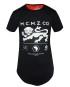 Marco Martinez M.C.M.Z Co. Long Tail Top – Unisex Black